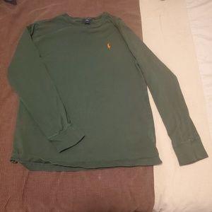 Polo by Ralph Lauren Long Sleeve T-shirt, Green, L